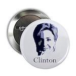Hillary Clinton 2012 Portrait Button