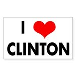 I Heart Clinton (Bumper Sticker)