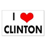 I Heart Clinton (Bumper Sticker)