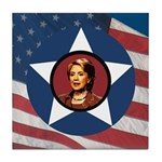 Hillary Clinton Campaign Tile Coaster