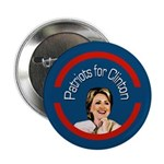 Patriots for Clinton campaign button