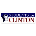Students for Clinton (bumper sticker)