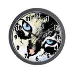 Ink Cat Wall Clock