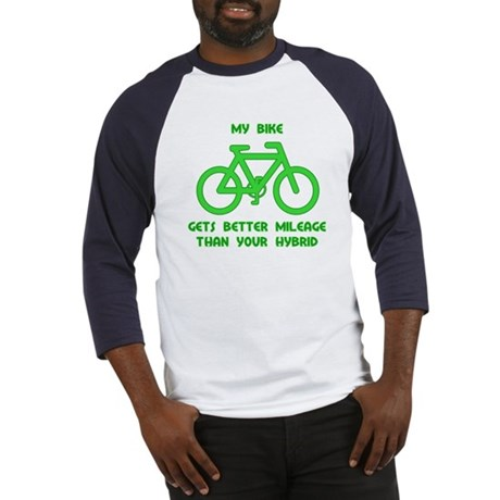 My Bike / Your Hybrid Baseball Jersey
