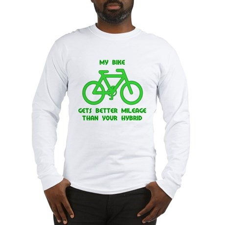 My Bike / Your Hybrid Long Sleeve T-Shirt