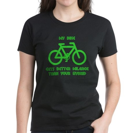 My Bike / Your Hybrid Women's Dark T-Shirt