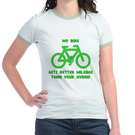 My Bike / Your Hybrid Jr. Ringer T-Shirt