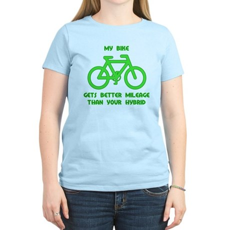 My Bike / Your Hybrid Women's Light T-Shirt