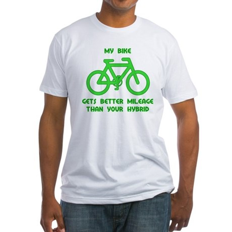 My Bike / Your Hybrid Fitted T-Shirt