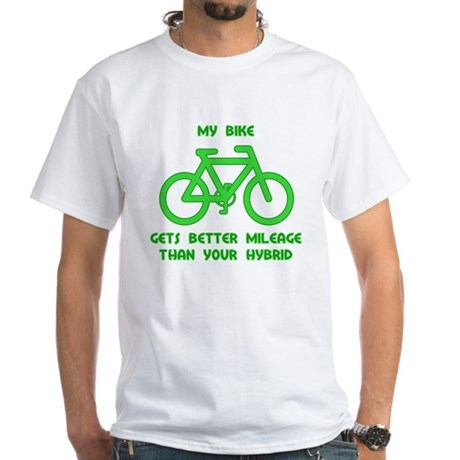 My Bike / Your Hybrid White T-Shirt
