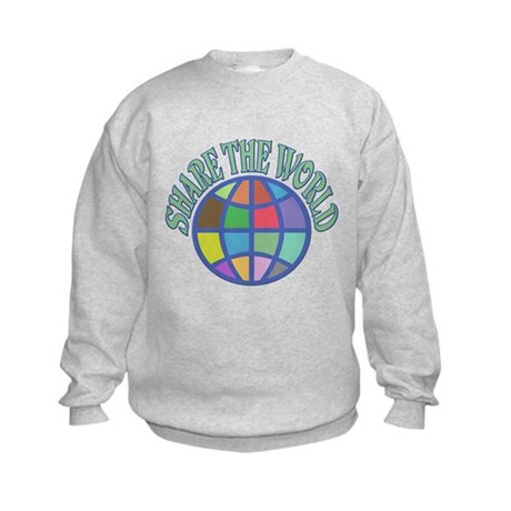 Share the World Kids Sweatshirt