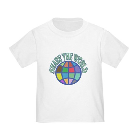 Share the World Toddler T-Shirt