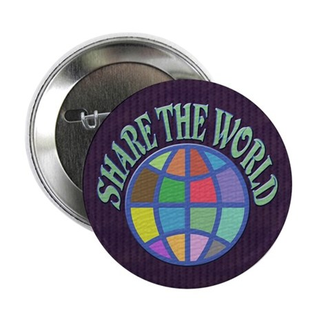 "Share the World 2.25"" Button (100 pack)"