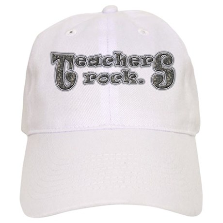 Teachers Rock Cap