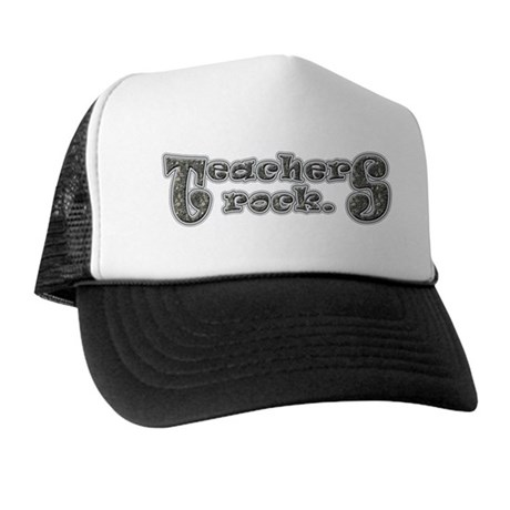 Teachers Rock Trucker Hat
