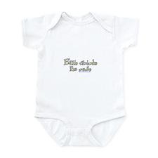 Ellis Thinks I'm Rude Infant Bodysuit