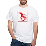 Machinery White T-Shirt