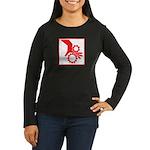 Machinery Women's Long Sleeve Dark T-Shirt