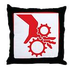 Machinery Throw Pillow