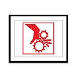 Machinery Framed Panel Print