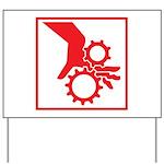 Machinery Yard Sign