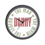 Danny Man Myth Legend Wall Clock