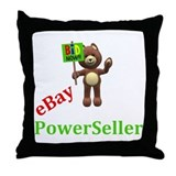 eBay Seller Throw Pillow