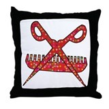 Beautician Throw Pillow