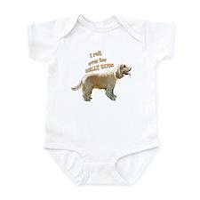 English cocker Belly rubs Infant Bodysuit