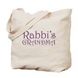 Rabbi's Grandma Tote Bag