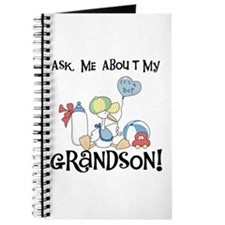 Stork New Grandson Journal