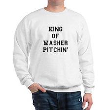 Funny Pitching Sweatshirt