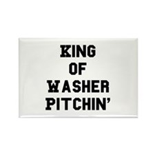 Funny Pitching Rectangle Magnet