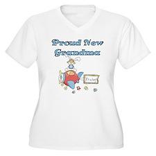 Plane Grandma of Boy T-Shirt