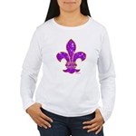 FLEUR DE LI Women's Long Sleeve T-Shirt