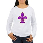 FLEUR DE LI Women's Long Sleeve T-Shirt