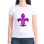 FLEUR DE LI Jr. Ringer T-Shirt