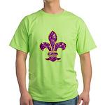 FLEUR DE LI Green T-Shirt