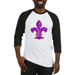 FLEUR DE LI Baseball Jersey