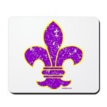 FLEUR DE LI Mousepad