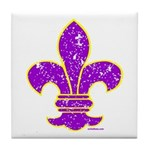 FLEUR DE LI Tile Coaster