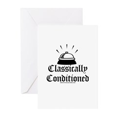 Classically Conditioned Greeting Cards (Pk of 10)