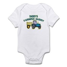 Daddy's Farming Buddy Infant Bodysuit