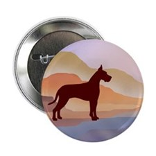 "Mountain Mirage Great Dane 2.25"" Button"