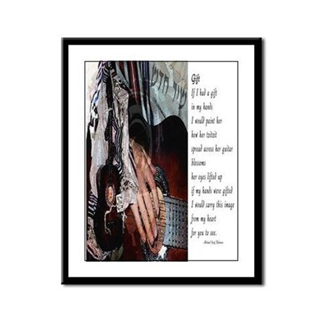 A Gift of Song Framed Panel Print