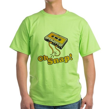 Oh Snap! Green T-Shirt