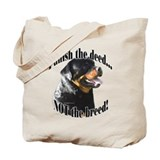 Rottweiler Anti-BSL 3 Tote Bag