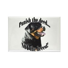 Rottweiler Anti-BSL 3 Rectangle Magnet (10 pack)