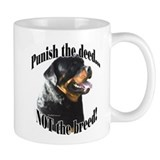 Rottweiler Anti-BSL 3 Coffee Mug