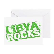 Libya Rocks Greeting Card